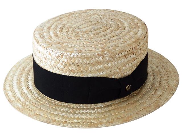 文二郎のカンカン帽(麦)