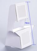 紙スタンドM12(はがきサイズ対応)【10枚入り】