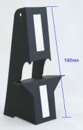 ブラック紙スタンドBP3(A3・B4サイズ対応)【10枚入り】