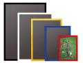 ニューアートフレームカラー A2(サイズ:420×594mm)