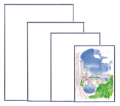 フラン 画用紙四ツ切(サイズ:380×540mm)