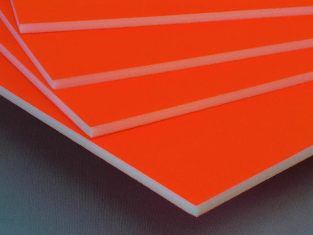 カラーボード(蛍光オレンジ)