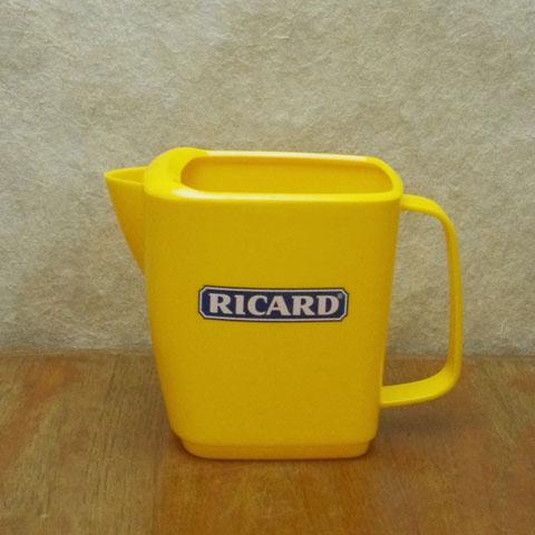 RICARD リカール 黄色水差し