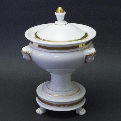 フランス アンティーク  スープ用 蓋もの (19世紀中頃)