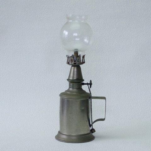 フランス ブロカント  PIGEON ランプ