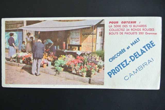 フランス ブロカント ビュバー( CHICOREE et MALT)花屋