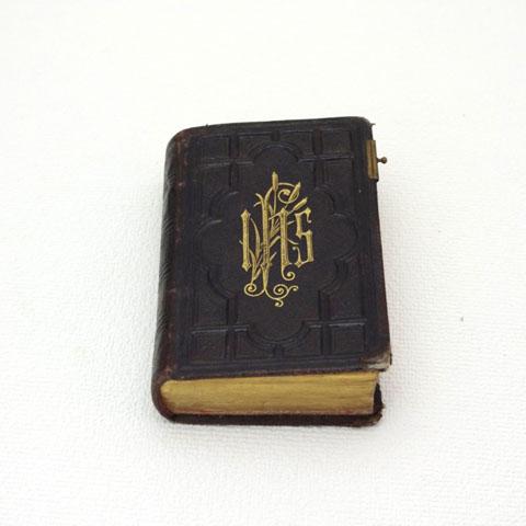 フランス アンティーク ミサ典礼書 《Paroissien Romain》 1885年出版