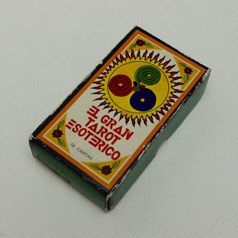 """タロットカード """"El Gran Tarot Esoterico"""" スペイン製 (1979年)"""