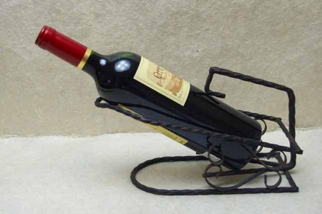 フランスブロカント   アイアン製ワイン ホルダー (1940年代)