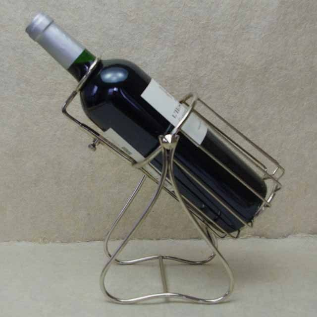 フランス ブロカント ワイン ホルダー (銀メッキ)