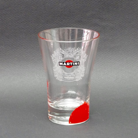 """MARTINI ""マルティーニ   (紋章)   グラス"