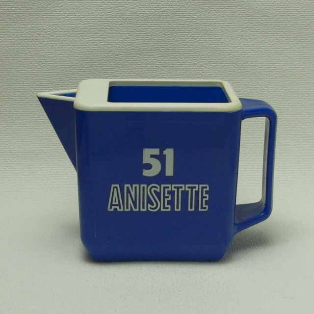 """""""51 ANISETTE"""" ブルー水差し"""
