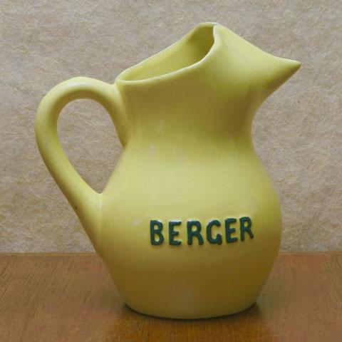 BERGER  ベルジェー 陶製 水差し(クリーム)