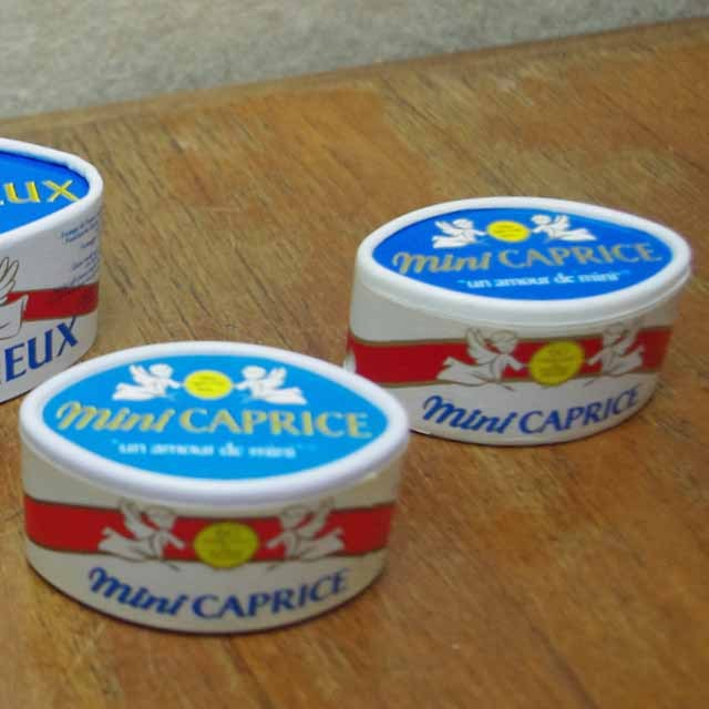 フランス ブロカント チーズ箱 鉛筆削り、ペン立て