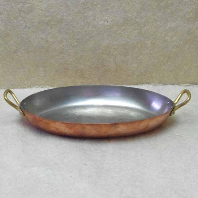 モービル  Mauviel 銅製 オーバル両手鍋