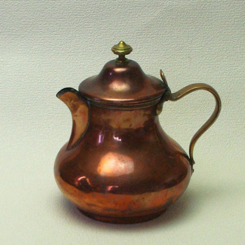 フランス ブロカント 銅製 ポット