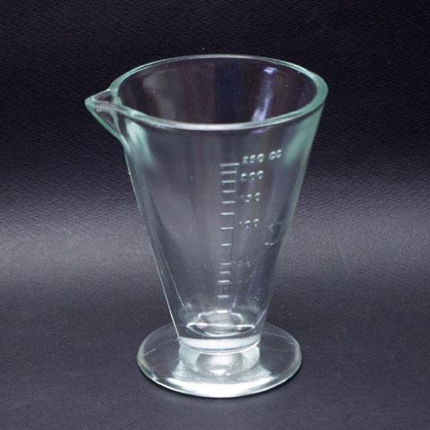 フランス ブロカント  ガラス メジャー