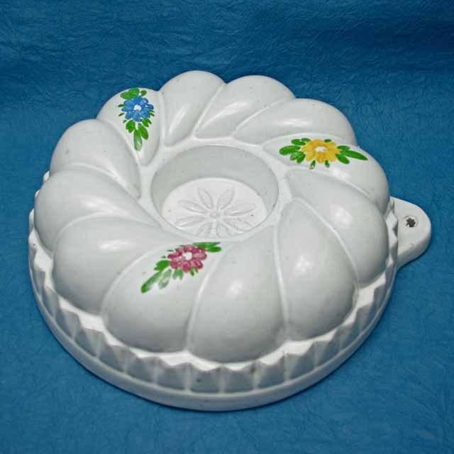 フランス ブロカント 陶製モールド (リング)