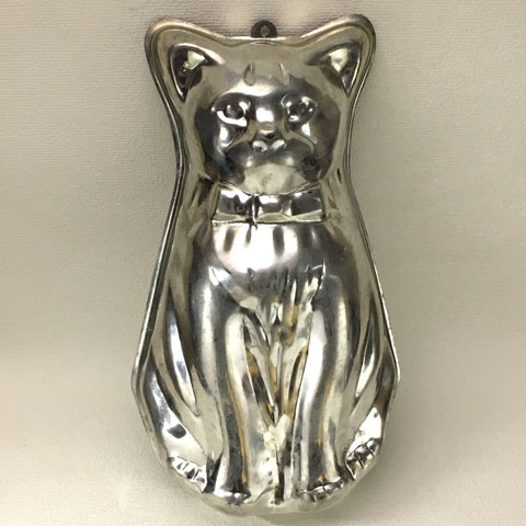 フランスブロカント モールド (猫)