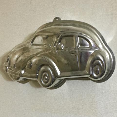 フランス ブロカント モールド(VW ビートル)