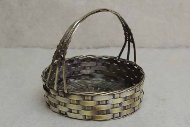 アンティーク 真鍮 パニエ