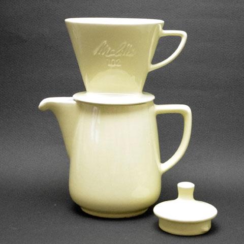 Melita  コーヒー ポット &フィルター ホルダー (1960年代)
