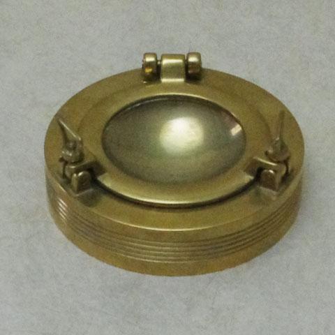 フランス ブロカント 「船窓」灰皿 (1930年代)