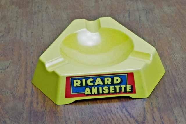 RICARD・ANISETTE  リカール 灰皿 (プラスティック)
