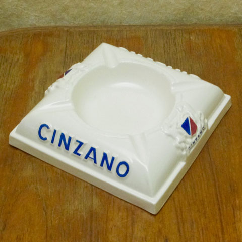 CINZANO チンザノ灰皿 (1950年代)