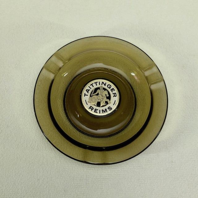 TAITTINGER   テタンジェ  シャンパーニュ 灰皿