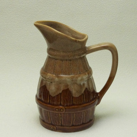 フランス ブロカント カフェ定番 陶製水差し(大)