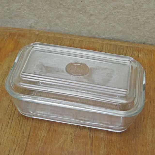 フランス製 オールド デュラレックス バターケース