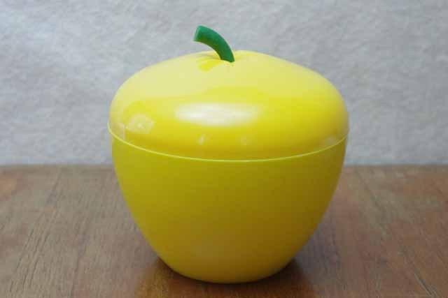 1970年代 ペアー形 アイスペール(黄色)