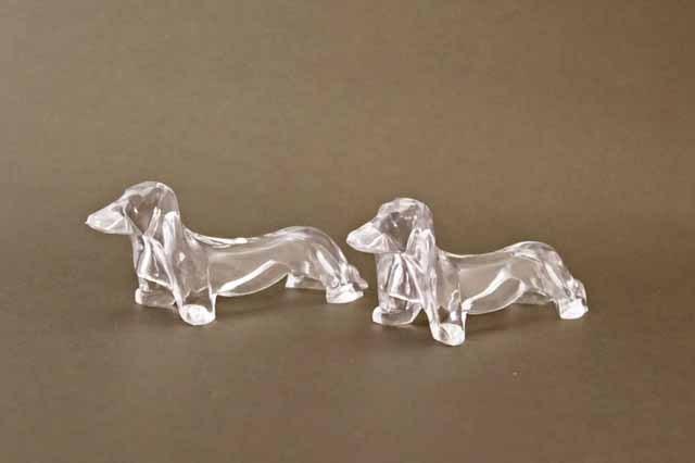カトラリーレスト 犬 2個セット(プラスティック)