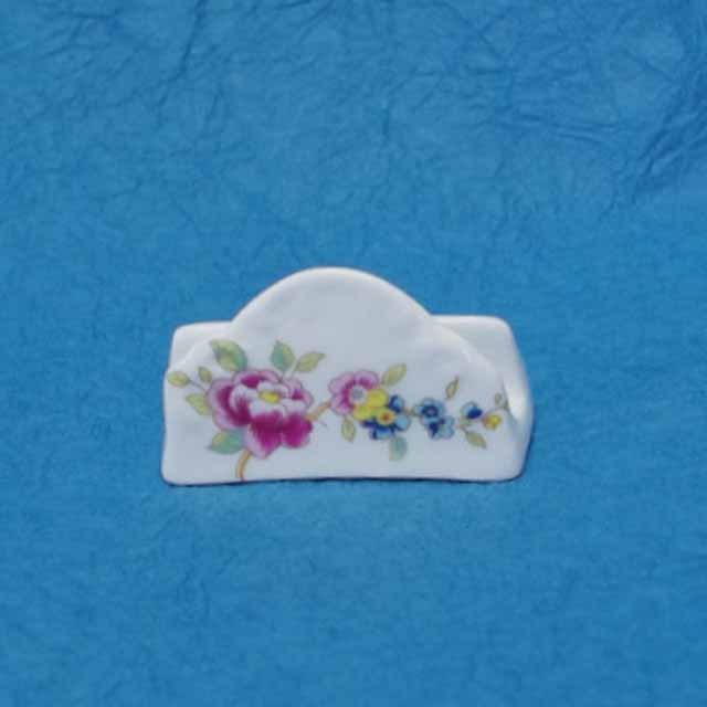 フランス ブロカント カード スタンド (花柄)