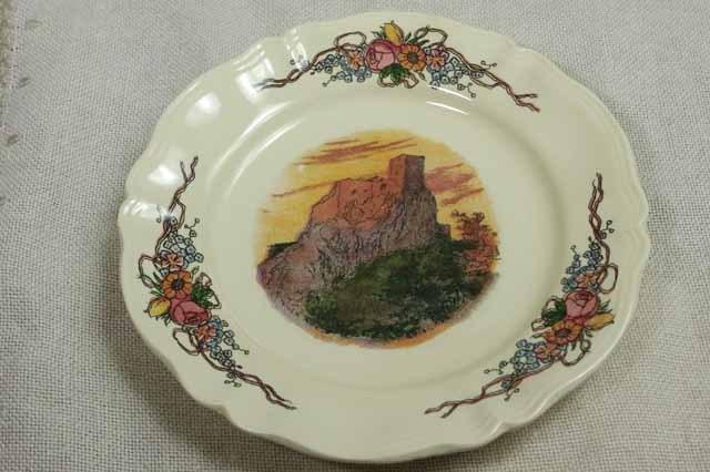 フランス サルグミン製  デザート皿 (オベルネシリーズ)#3