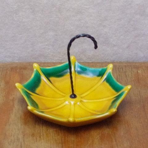 フランスブロカント オードブル用 傘形皿(バロリス窯)