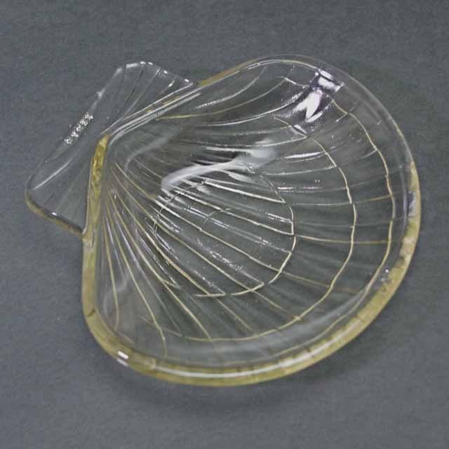 フランス製 オールド・パイレックス シェル形 皿(1950年代)