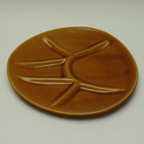 フランスブロカント フォンデュ用 皿 (Niderviller窯)