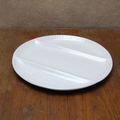 フランスブロカント フォンデュ用 皿 (アイボリー)