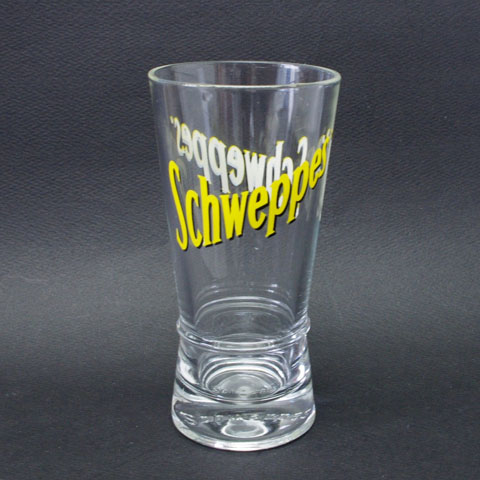 """Schweppes"" シュウェップス グラス"