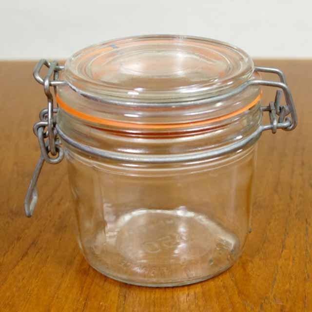 アンティークガラス 保存ビン (350ml)