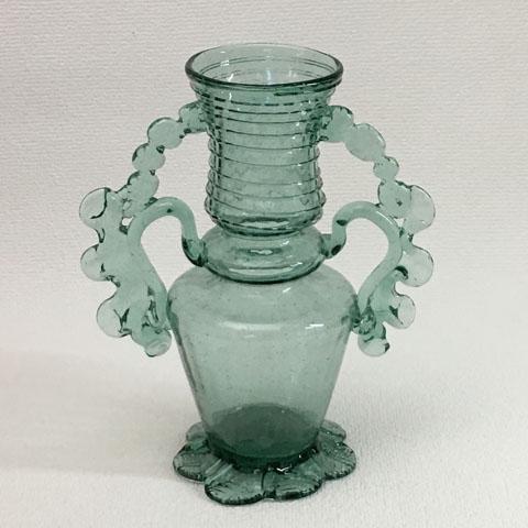 フランス アンティーク ガラス 壺