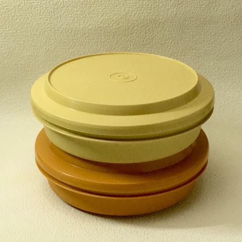 ヴィンテージ タッパーウェアー お弁当箱 (2色)