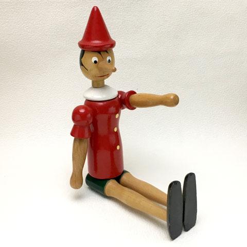 フランスブロカント ピノキオ 人形