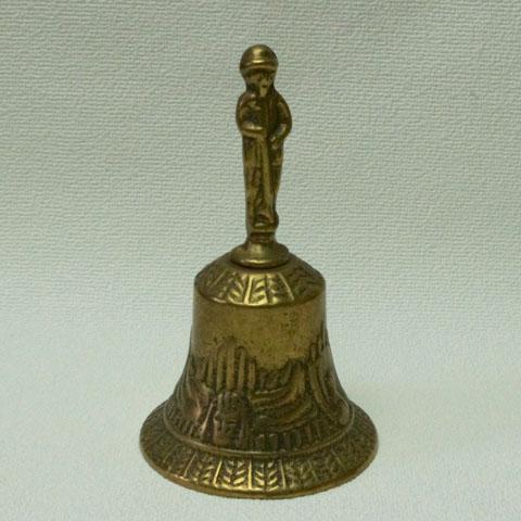 フランスブロカント 真鍮 ハンドベル