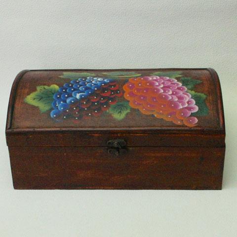 フランス ブロカント  果物 ペイント ボックス(1920年代)