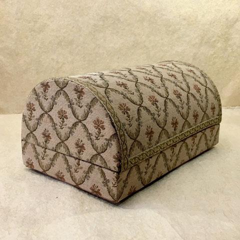 フランス ブロカント ゴブラン織り  箱