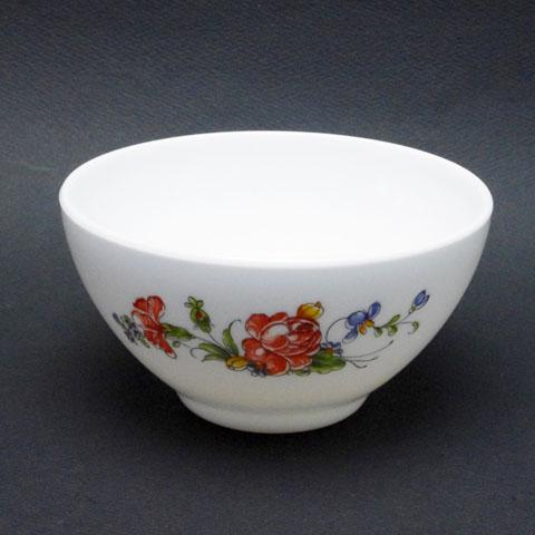アルコパル カフェオレ・ボウル (赤い花)