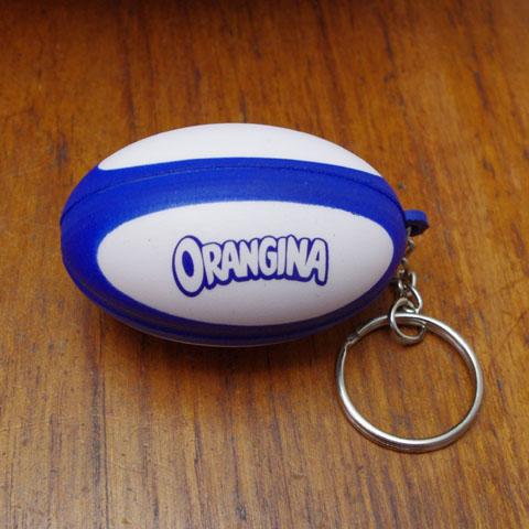 """""""ORANGINA"""" キーホルダー(ラグビーボール)"""